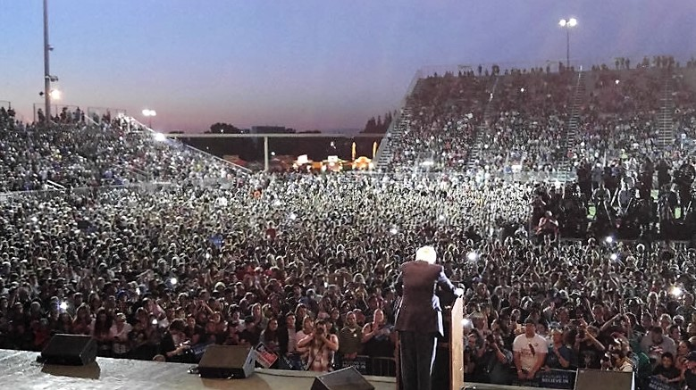 Bernie Sanders California rally